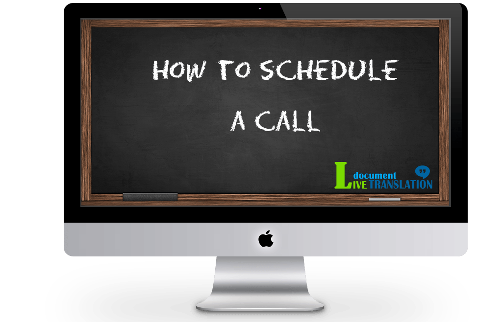 how to schedule a call