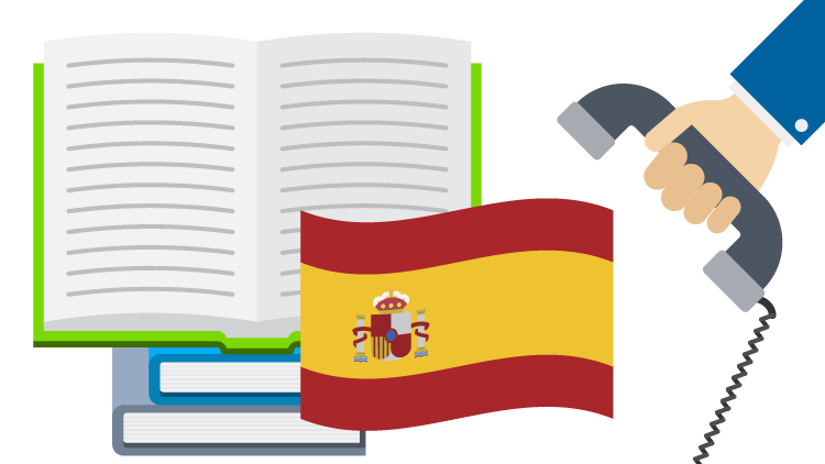 Spanish translation services by phone